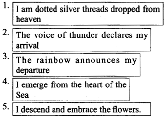NCERT Solutions for Class 9 English Literature Chapter 12 Song of the Rain 2