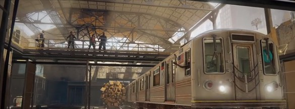 World War Z - Train Depot