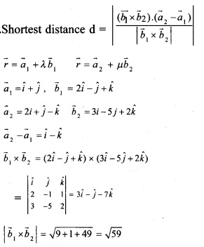 Plus Two Maths Chapter Wise Previous Questions Chapter 11 Three Dimensional Geometry 6