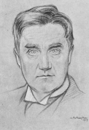 Vaughan Williams by Rothenstein