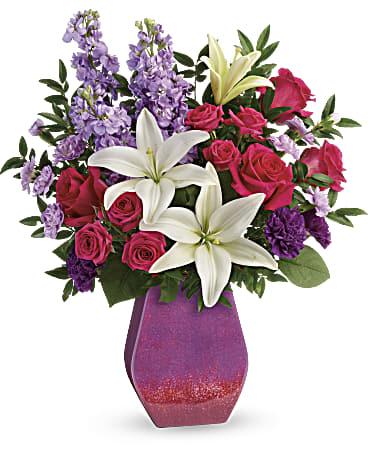 Teleflora's Art Glass Treasure Bouquet Review #LoveOutLoud @Teleflora @SMGurusNetwork #MySillyLittleGang
