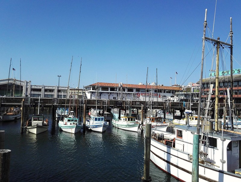 Fisherman's Wharf, San Francisco, California, Usa.