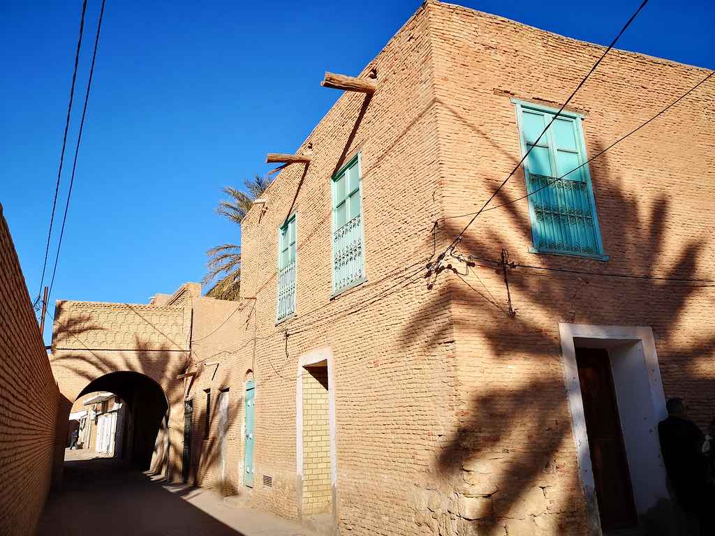 arco entrada a la Medina de Tozeur Tunez