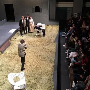 Dernier acte de la dernière des Trois Sœurs de Tchekhov. La semaine prochaine : Platonov ! #tchekhov #théâtre #atea2019 #derniere
