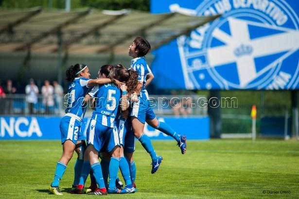 Deportivo Abanca 5 - Alhama 1