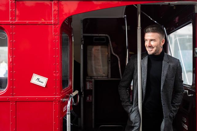 DB in London bus