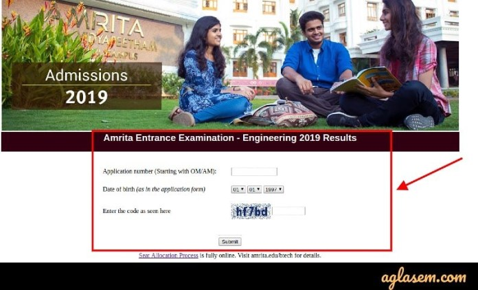 AEEE 2020 Login for Result