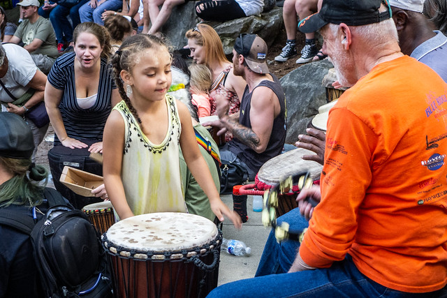 2019-05-17 Asheville Drumming and Absurdists Parade