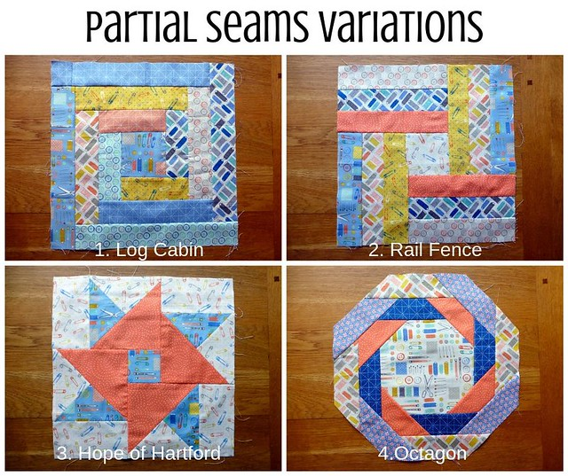 Partial Seams Variations