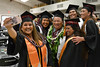 """Graduates pose for a group selfie before the ceremony in Hilo. Hawaii Community College celebrated spring 2019 commencement on Friday, May 10, 2019 at the the Edith Kanakaole Multi-Purpose stadium. Go the Hawaii Community College's Flickr album for more photos from the Hilo ceremony: <a href=""""https://www.flickr.com/photos/53092216@N07/sets/72157680393896768"""">www.flickr.com/photos/53092216@N07/sets/72157680393896768</a>"""