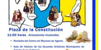 Agaete celebra con música y tradición el Día de Canarias