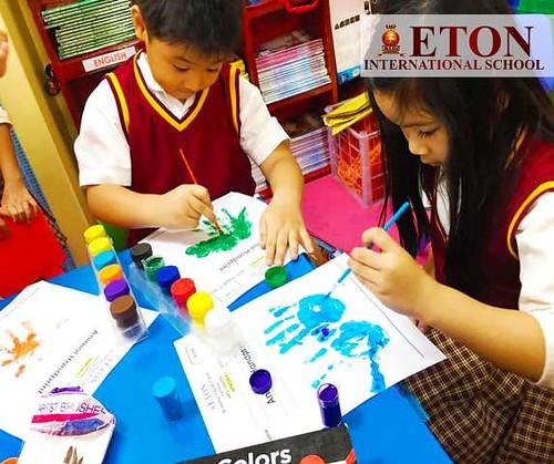 ETON International School Students Arts