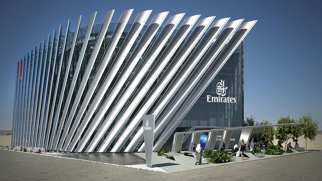 Emirates Pavilion Exterior