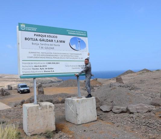 Comienzan las obras de ejecución del Parque Eólico de Botija