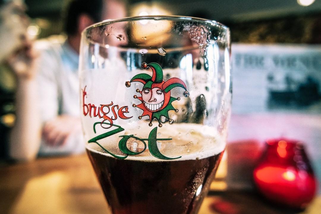 Birra belga a Bruges