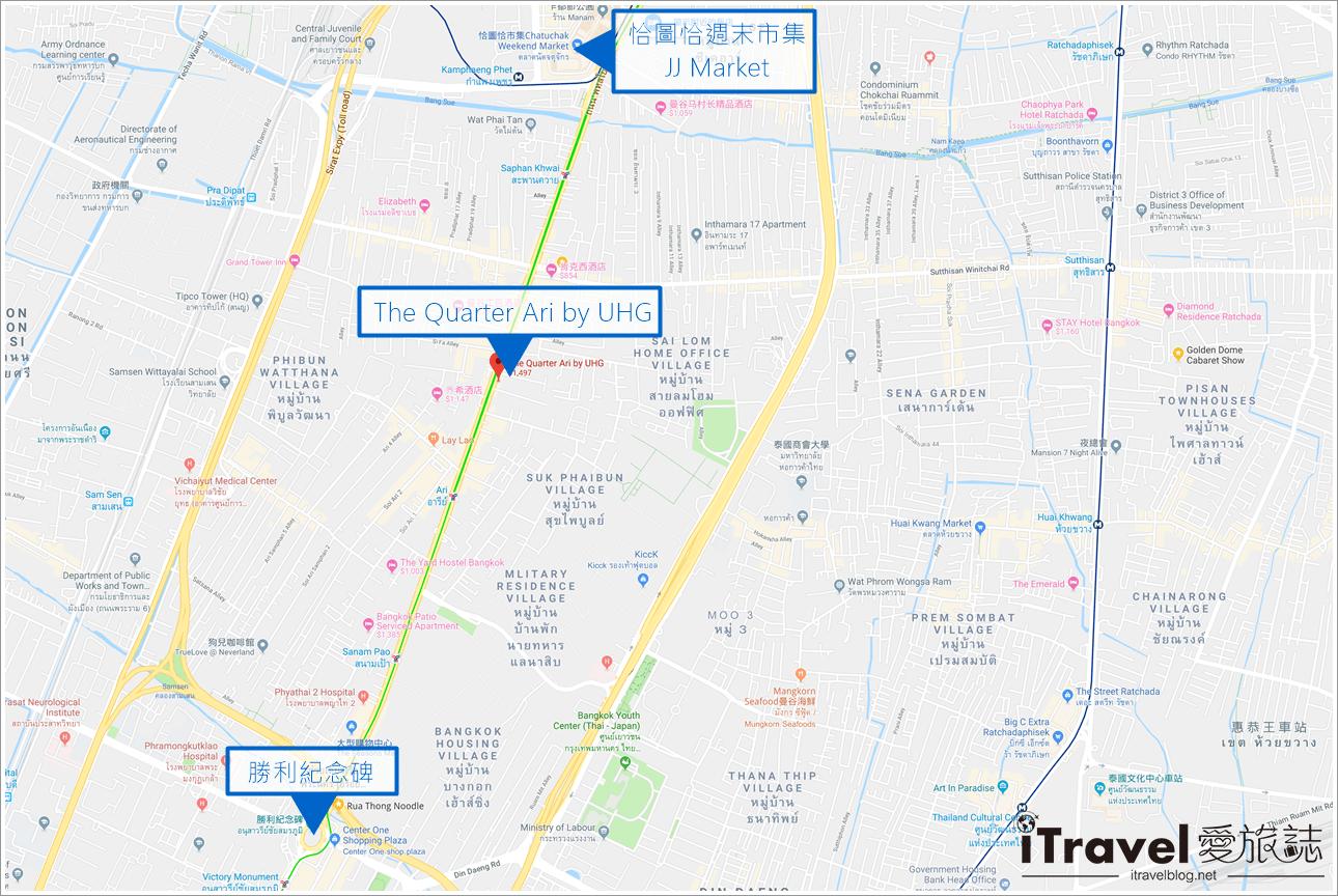 曼谷公寓式饭店 The Quarter Ari by UHG (89)