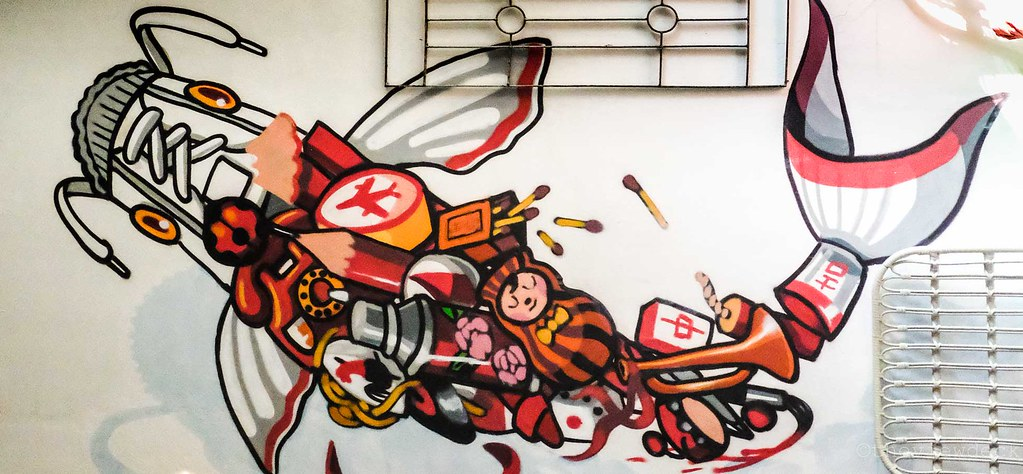 Mural by Kenji Chai