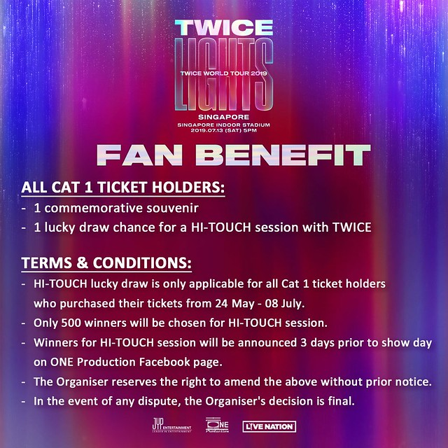 TWICELIGHTS in Singapore Fan Benefit
