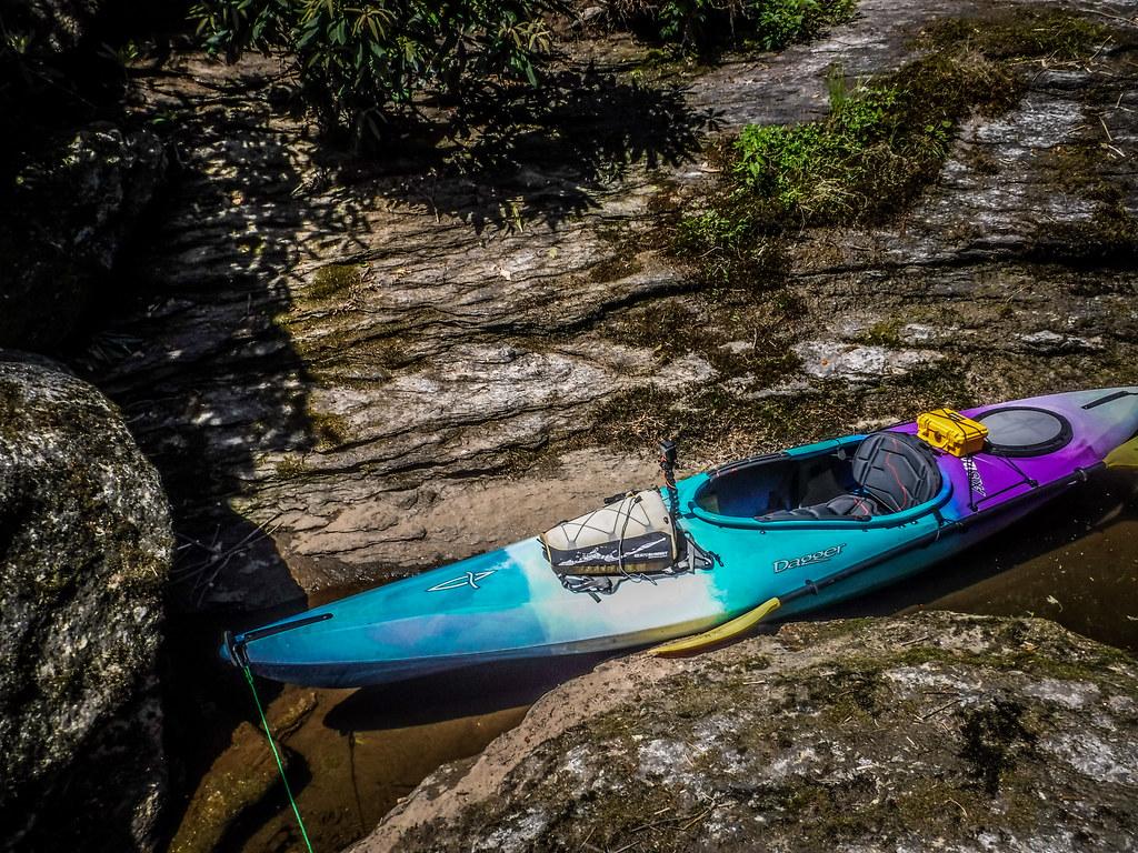 Paddling North Toe River