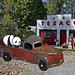 Old Toy Truck Panda 38971v3