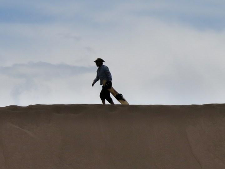 Eric the sand cowboy