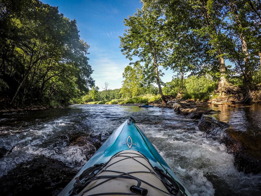 Paddling the North Toe River-10