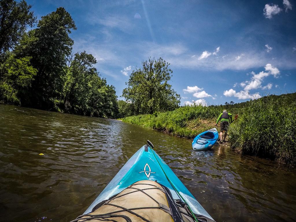 Paddling the North Toe River-157