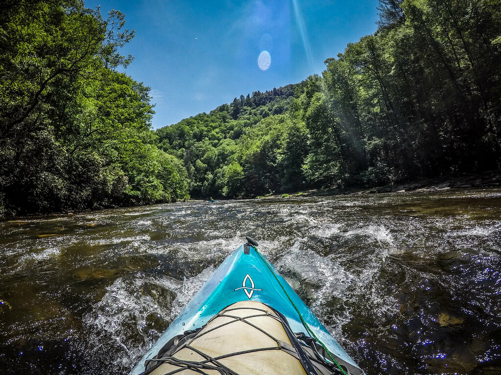 Paddling the North Toe River-126