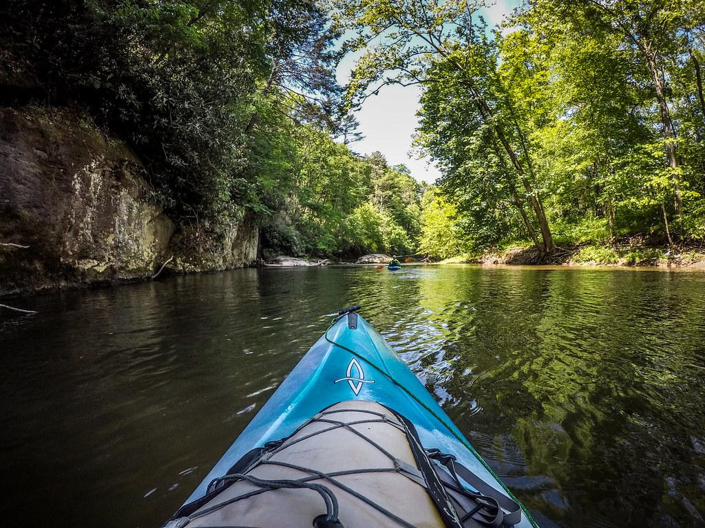 Paddling the North Toe River-88