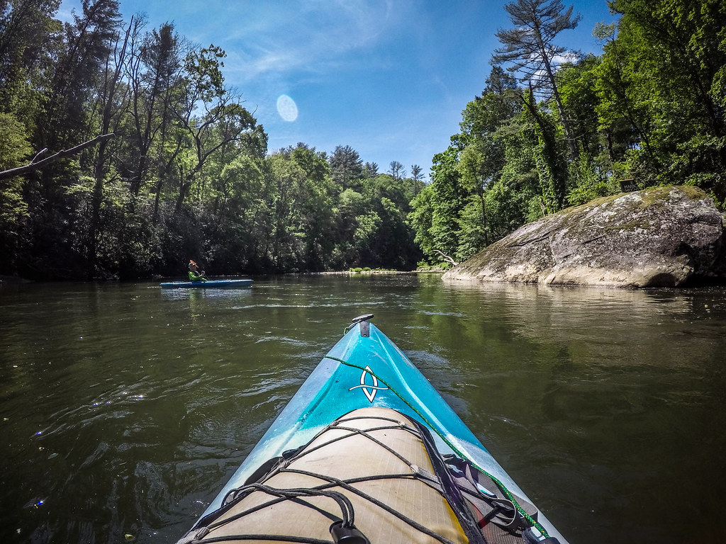 Paddling the North Toe River-83