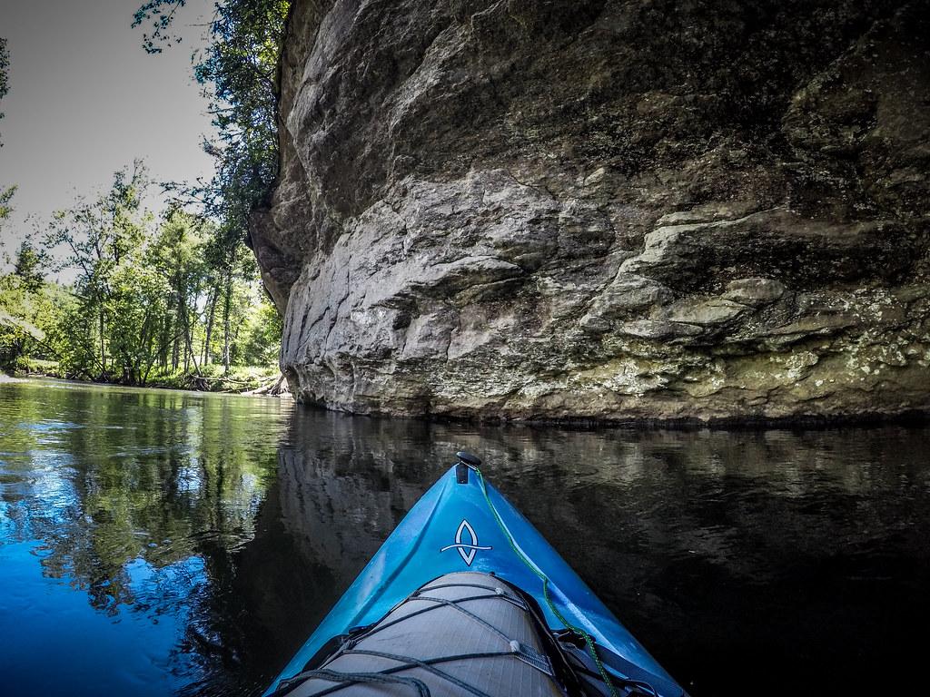 Paddling the North Toe River-94
