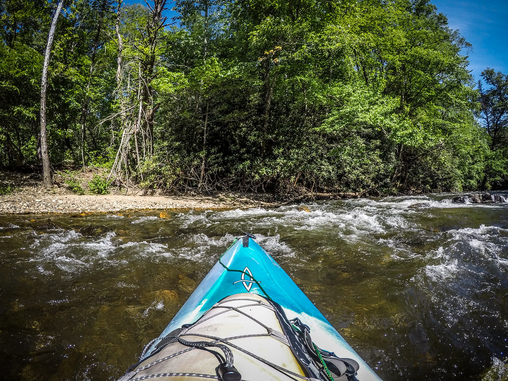 Paddling the North Toe River-34