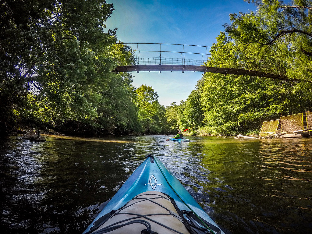 Paddling the North Toe River-22