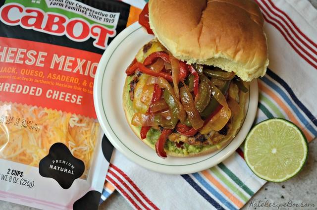 Chicken Fajita Burger 1