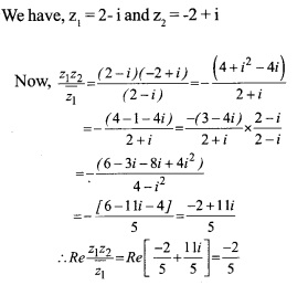 HSSlive Plus One Maths Chapter Wise Questions and Answers Chapter 5 Complex Numbers and Quadratic Equations 28