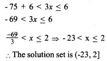 HSSlive Plus One Maths Chapter Wise Questions and Answers Chapter 6 Linear Inequalities 2