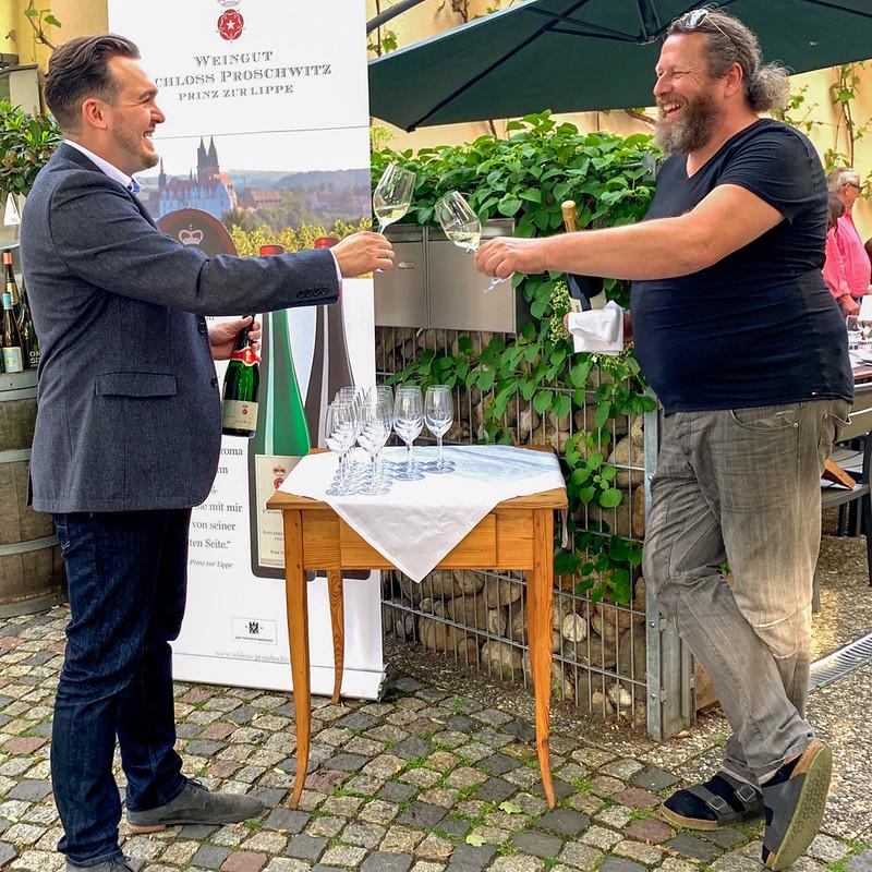 Mathias Dufft (l) und Matthias Gräfe