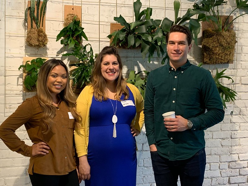 With my colleagues at Creative Mornings Sacramento