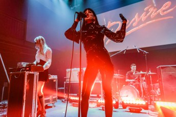 Desire at the 9:30 Club in Washington, DC on May 22nd, 2019