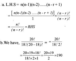 HSSlive Plus One Maths Chapter Wise Questions and Answers Chapter 7 Permutation and Combinations 4