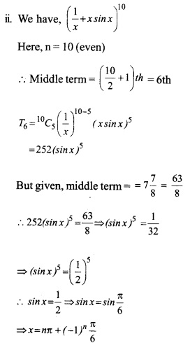 HSSlive Plus One Maths Chapter Wise Questions and Answers Chapter 8 Binomial Theorem 16
