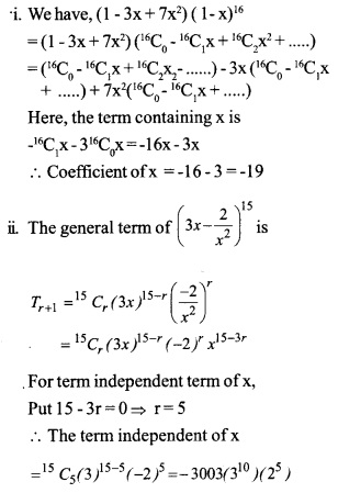HSSlive Plus One Maths Chapter Wise Questions and Answers Chapter 8 Binomial Theorem 17