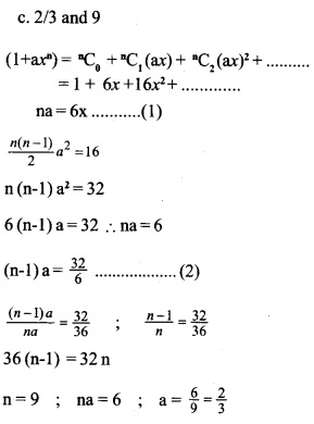 HSSlive Plus One Maths Chapter Wise Questions and Answers Chapter 8 Binomial Theorem 13