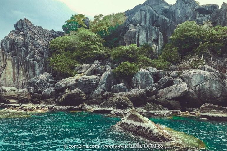 เกาะง่ามน้อย ทะเลชุมพร