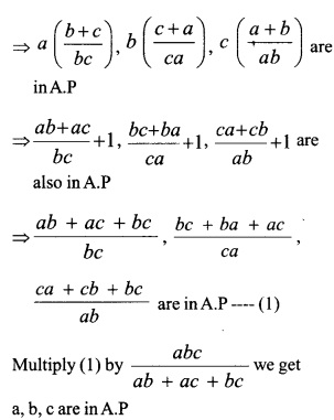 HSSlive Plus One Maths Chapter Wise Questions and Answers Chapter 9 Sequences and Series 42