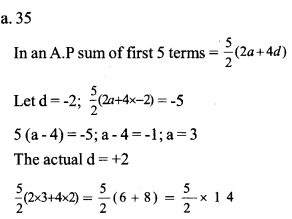HSSlive Plus One Maths Chapter Wise Questions and Answers Chapter 9 Sequences and Series 10