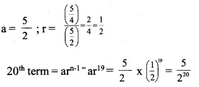 HSSlive Plus One Maths Chapter Wise Questions and Answers Chapter 9 Sequences and Series 2