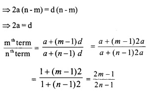 HSSlive Plus One Maths Chapter Wise Questions and Answers Chapter 9 Sequences and Series 38