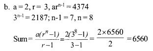 HSSlive Plus One Maths Chapter Wise Questions and Answers Chapter 9 Sequences and Series 20
