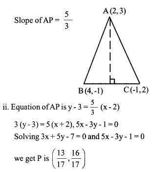 HSSlive Plus One Maths Chapter Wise Questions and Answers Chapter 10 Straight Lines 23